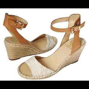 Vince Camuto Espadrille Wedge Sandals US 7.5